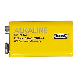 ALKALISK, Alkaline battery