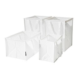 DIMPA recycling bag, set of 4, white