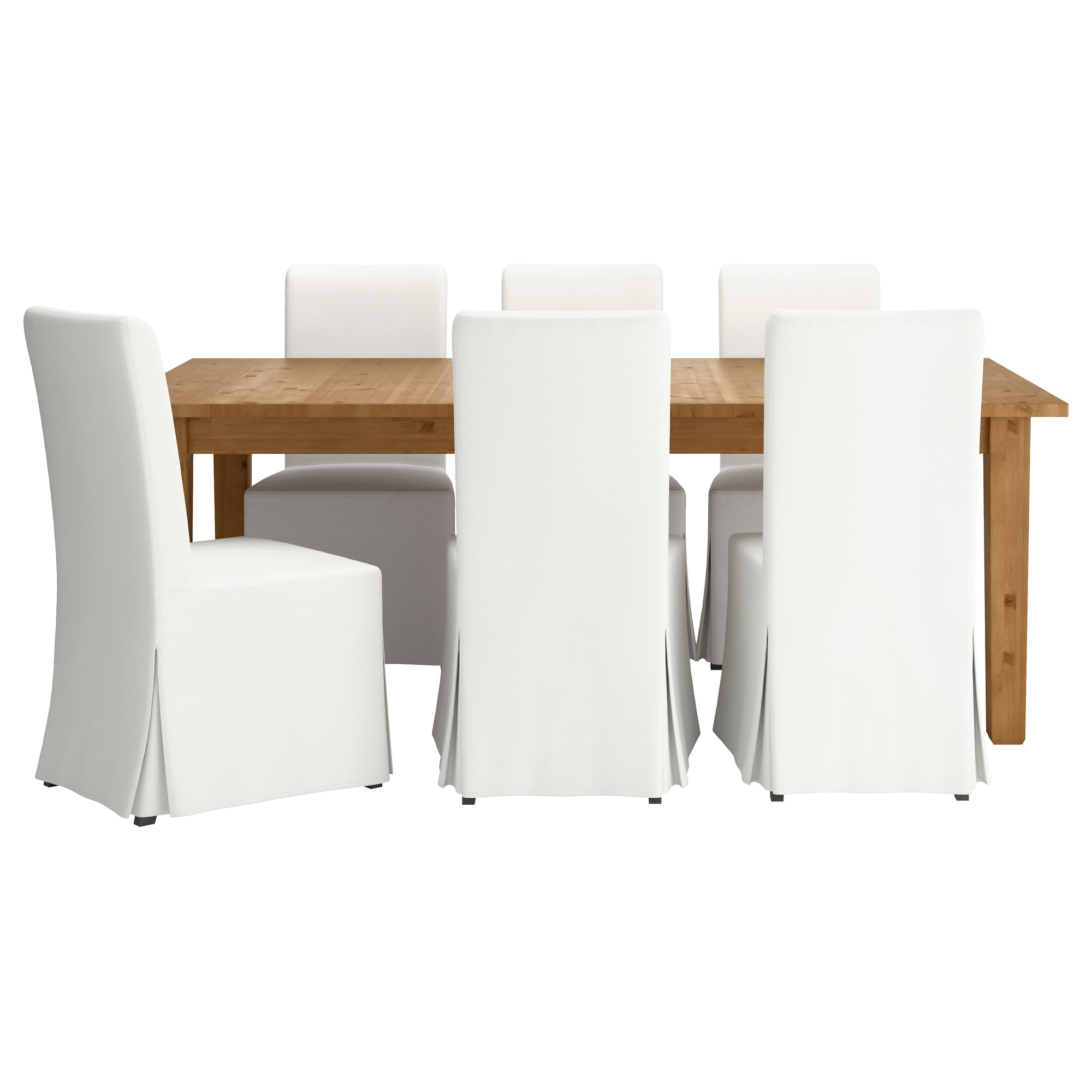 """STORN""""S HENRIKSDAL Table and 6 chairs IKEA"""