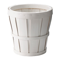 KALASA plant pot, white Outside diameter: 20 cm Max. diameter flowerpot: 17 cm Height: 20 cm