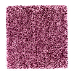 ABORG rug, high pile, pink Length: 100 cm Width: 100 cm Surface density: 4350 g/m²