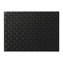 ORDENTLIG, Place mat, black