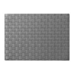 ORDENTLIG place mat, grey