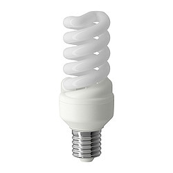 SPARSAM low-energy bulb dimmable, spiral Power: 15 W