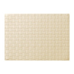 ORDENTLIG, Place mat, off-white