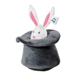 "LEKA CIRKUS musical soft toy, rabbit Height: 4 ¾ "" Height: 12 cm"