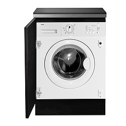 RENLIG IWM60 integrated washing machine, white Width: 59.6 cm Depth: 54.0 cm Height: 82.0 cm