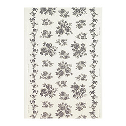 ROSMARIE fabric, grey, white Width: 150 cm Pattern repeat: 91 cm Area: 1.50 m²