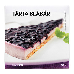 TÅRTA BLÅBÄR blueberry cake, frozen Weight: 400 g