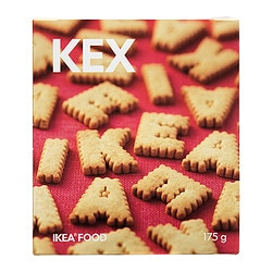 KEX biscuits Weight: 175 g