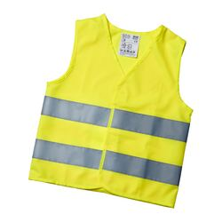 PATRULL reflecting vest, yellow, 3-6 years