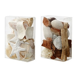DOFTA potpourri in a box, dark brown, scented light brown Net weight: 240 g