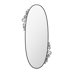 EKNE mirror, oval