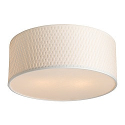 ALÄNG ceiling lamp, white Diameter: 35 cm Height: 15 cm