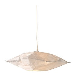 VARMLUFT shade, square off-white Length: 46 cm Height: 16.5 cm