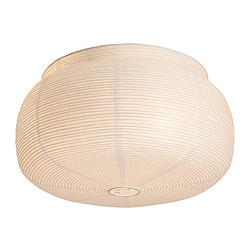 VÄTE ceiling lamp, white Diameter: 38 cm Height: 21 cm