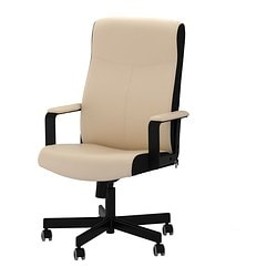 "MALKOLM swivel chair, Bomstad beige light beige beige Tested for: 242 lb 8 oz Depth: 25 5/8 "" Max. height: 48 3/8 "" Tested for: 110 kg Depth: 65 cm Max. height: 123 cm"