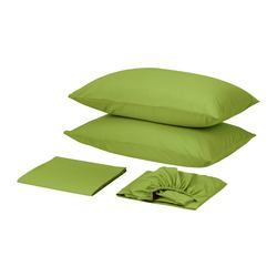 DVALA sheet set, bright green