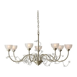 "SÖDER chandelier, 7-armed Diameter: 28 "" Height: 32 "" Cord length: 3 ' 3 "" Diameter: 72 cm Height: 80 cm Cord length: 1.0 m"