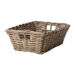 BYHOLMA basket, gray