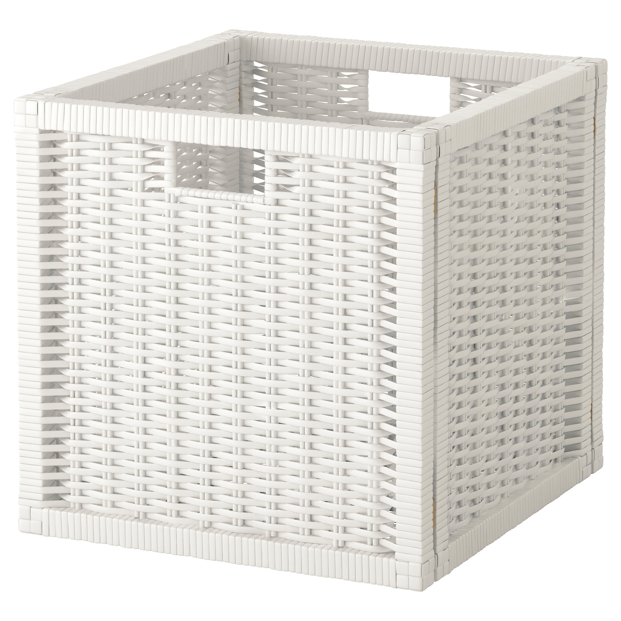 branas basket white width  a   quot depth  a   quot height: white storage unit wicker