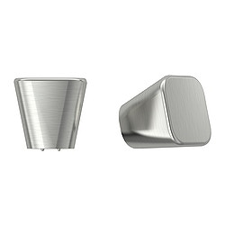 BASTIG knob, nickel-plated Length: 31 mm Width: 31 mm Depth: 30 mm