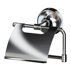 MOGDEN toilet roll holder, stainless steel Width: 14.8 cm Depth: 8.5 cm Height: 11.6 cm