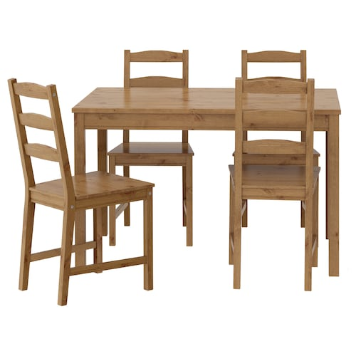 IKEA JOKKMOKK Table and 4 chairs