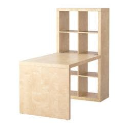 EXPEDIT desk combination, birch effect Width: 154 cm Depth: 79 cm Height: 149 cm