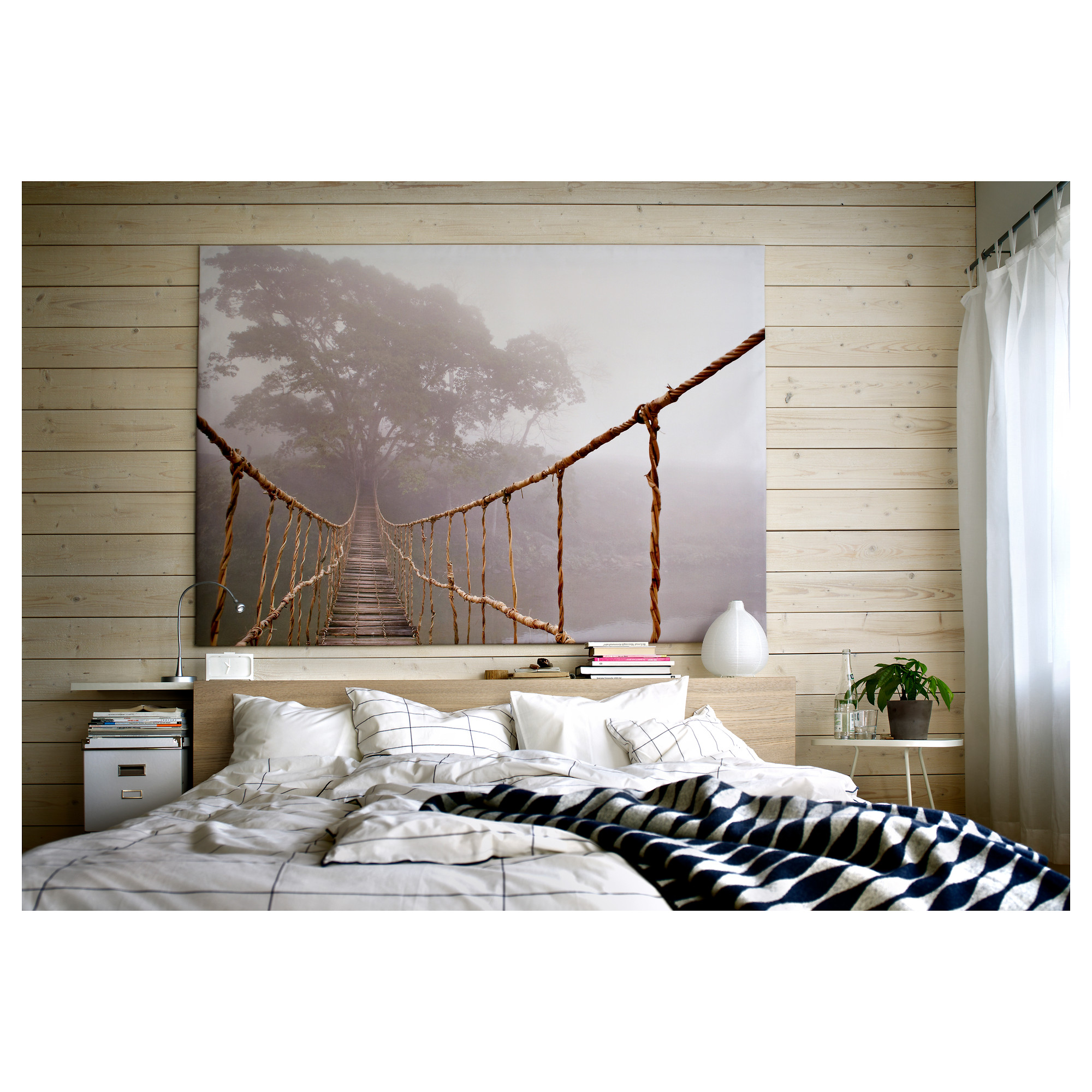 ikea wall art bridge vilshult picture ikea wall art pinterest ikea and pictures with. Black Bedroom Furniture Sets. Home Design Ideas