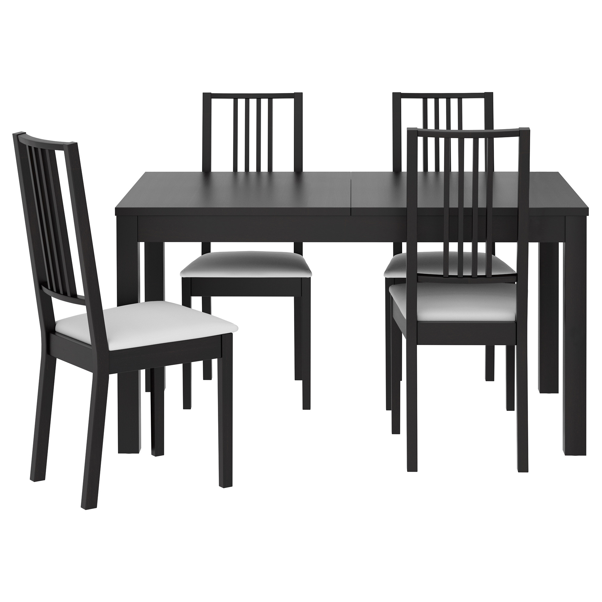 Delightful Kitchen Table And Chairs Ikea #5: BJURSTA / BÖRJE Table And 4 Chairs - IKEA