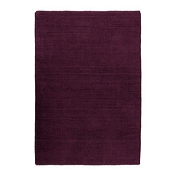 "ALMSTED rug, low pile, lilac Length: 6 ' 7 "" Width: 4 ' 7 "" Surface density: 11 oz/sq ft Length: 200 cm Width: 140 cm Surface density: 3290 g/m²"