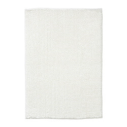 TOFTBO bath mat, white