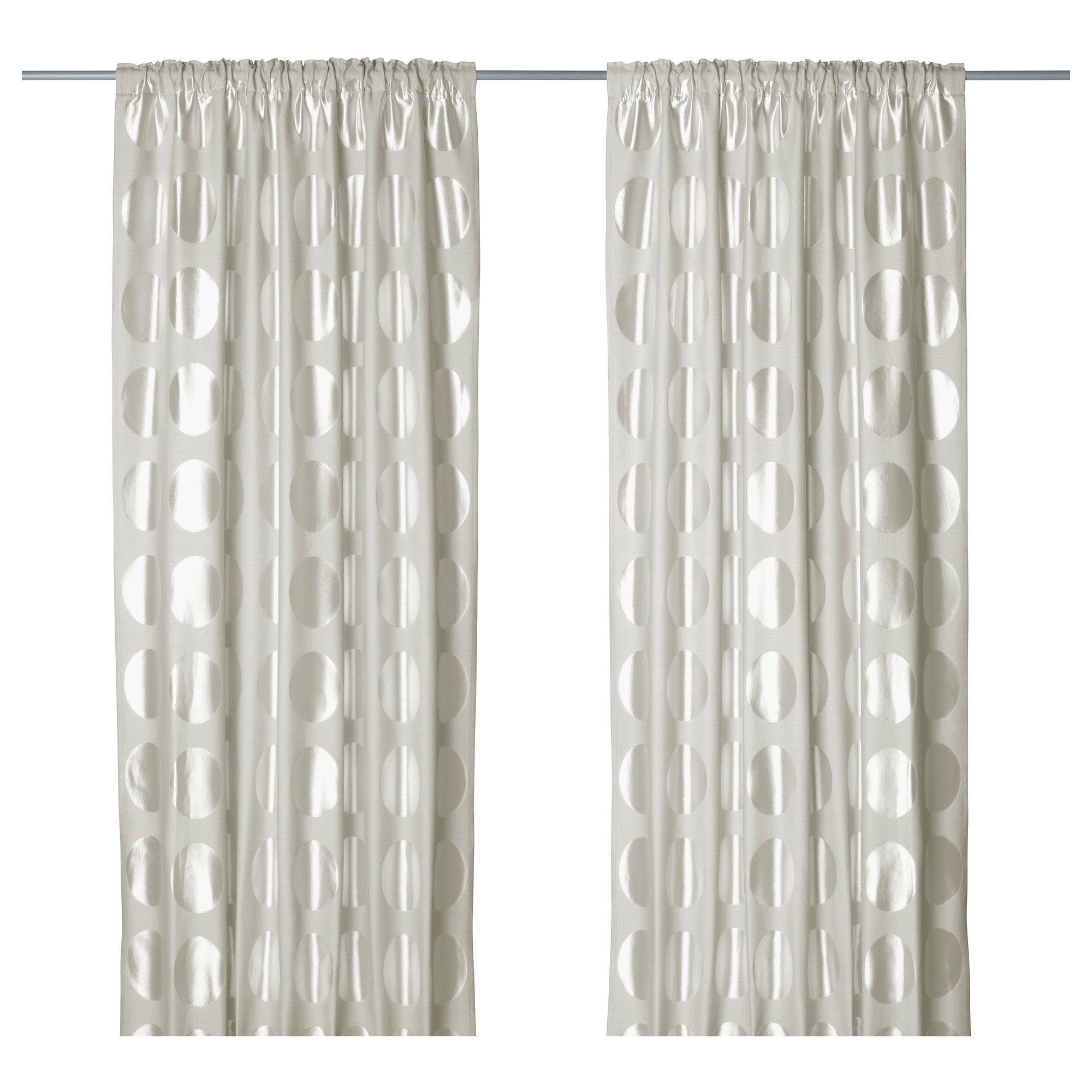 Curtains Ninni Rund Curtains 1 Pair Ikea