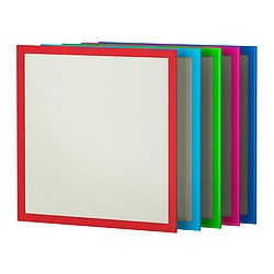 NYTTJA frame, assorted colours Frame, height: 54 cm Picture, width: 50 cm Picture, height: 50 cm