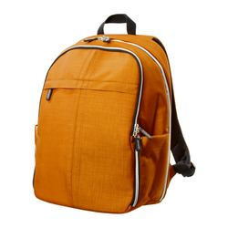 UPPTÄCKA backpack, yellow-orange Volume: 4 gallon Volume: 15 l