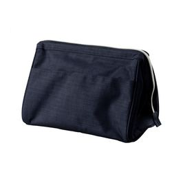 UPPTÄCKA toiletries bag, dark blue Volume: 237 oz Volume: 7 l