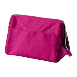 UPPTÄCKA toiletries bag, pink Volume: 237 oz Volume: 7 l