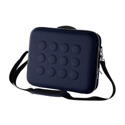 UPPTÄCKA briefcase, dark blue Length: 38 cm Depth: 12 cm Height: 31 cm