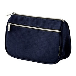 UPPTÄCKA accessory bag, dark blue Volume: 1 l