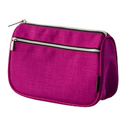UPPTÄCKA accessory bag, pink Volume: 34 oz Volume: 1 l