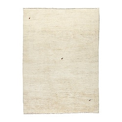 "PERSISK GABBEH rug, high pile, natural Length: 9 ' 10 "" Width: 6 ' 7 "" Pile coverage: 16.39 oz/sq ft Length: 300 cm Width: 200 cm Pile coverage: 5000 g/m²"