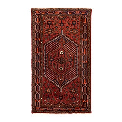 "PERSISK HAMADAN rug, low pile, assorted patterns Length: 6 ' 7 "" Width: 4 ' 7 "" Pile coverage: 11.47 oz/sq ft Length: 200 cm Width: 140 cm Pile coverage: 3500 g/m²"
