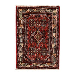 PERSISK HAMADAN rug, low pile, assorted patterns Length: 90 cm Width: 60 cm Pile coverage: 3500 g/m²