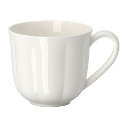 "TILLBAKA mug, off-white Height: 4 "" Volume: 14 oz Height: 9 cm Volume: 40 cl"