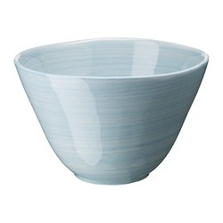 FORSLA deep plate, blue Diameter: 20 cm Height: 7 cm