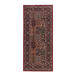 "VALBY RUTA rug, low pile, multicolor Length: 5 ' 11 "" Width: 2 ' 7 "" Surface density: 5 oz/sq ft Length: 180 cm Width: 80 cm Surface density: 1531 g/m²"