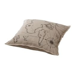 "BENZY LAND cushion, beige Length: 20 "" Width: 20 "" Filling weight: 12 oz Length: 50 cm Width: 50 cm Filling weight: 350 g"