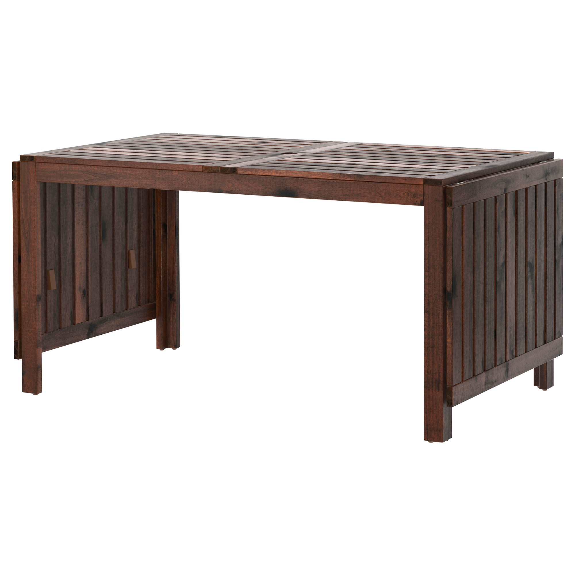 ÄpplarÖ Drop Leaf Table Outdoor Brown Stained