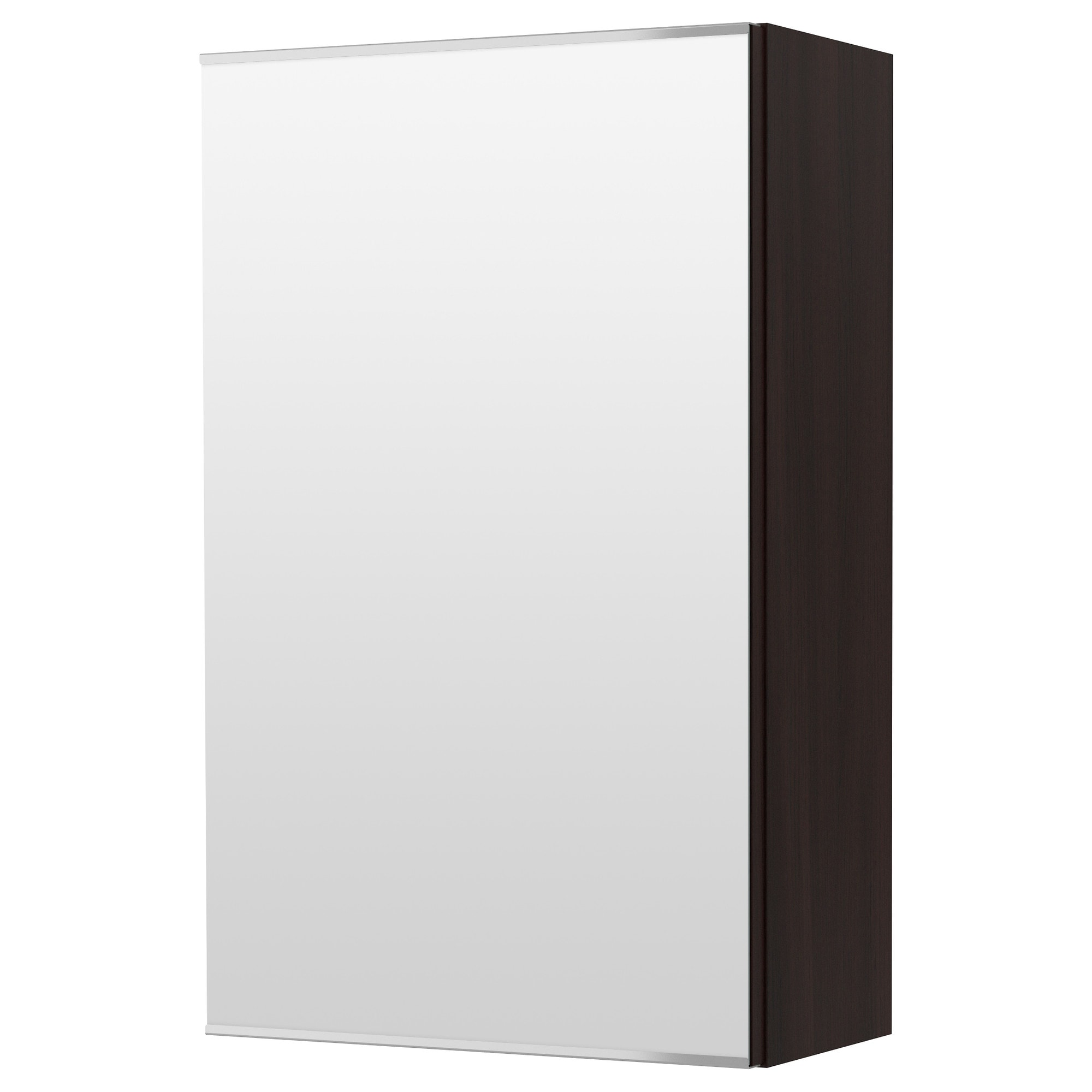 LILLNGEN Mirror Cabinet With 1 Door Black Brown Width 15